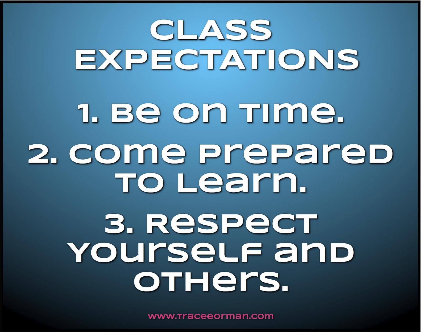 teacher expectations essay