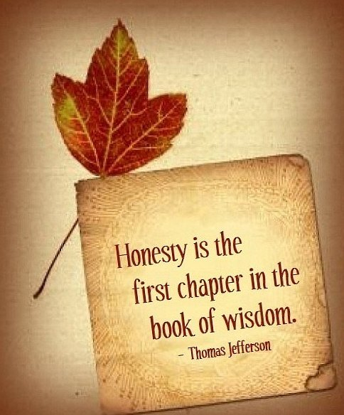 Motivational Quotes About Honesty. QuotesGram