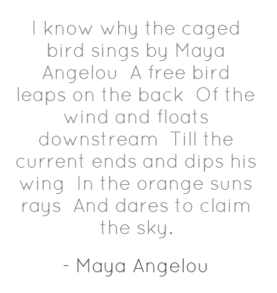 maya angelous i know why the caged bird sings essay Maya angelou's i know why the caged bird sings by joanne m braxton (review)  when the bird breaks from the cage, explains why caged bird has so consistendy been.