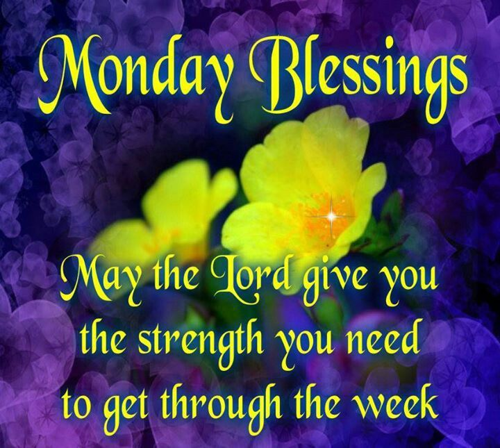 Monday Blessings Quotes. QuotesGram