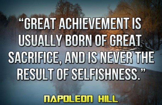 Motivational Picture Quotes - Inspiring Pictures with ...  Inspirational Quotes About Sacrifice
