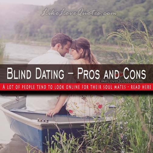 blind dating quotes