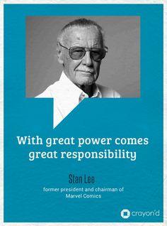 Stan Lee Quotes Quotesgram