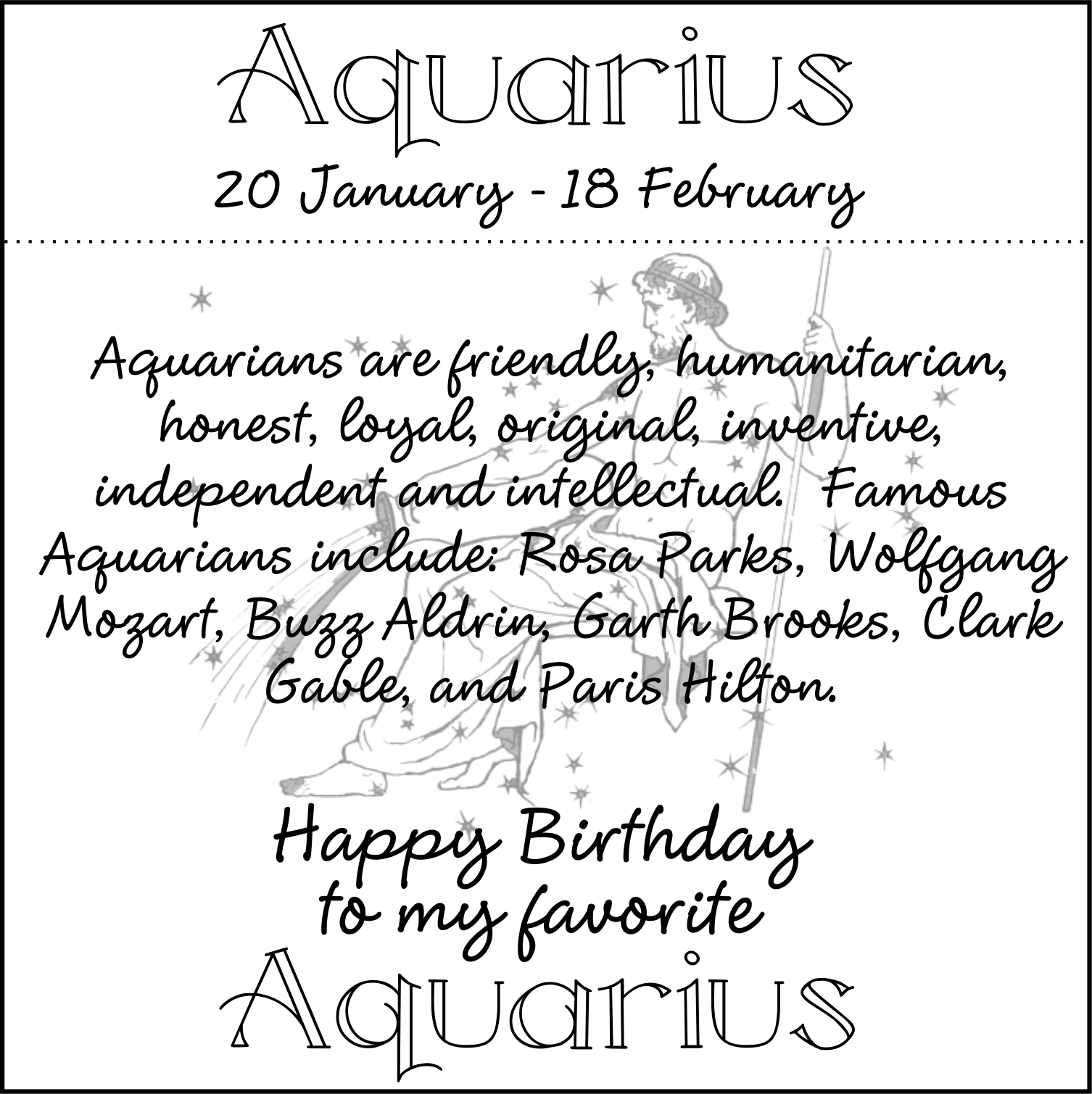 Aquarius Birthday Quotes. QuotesGram