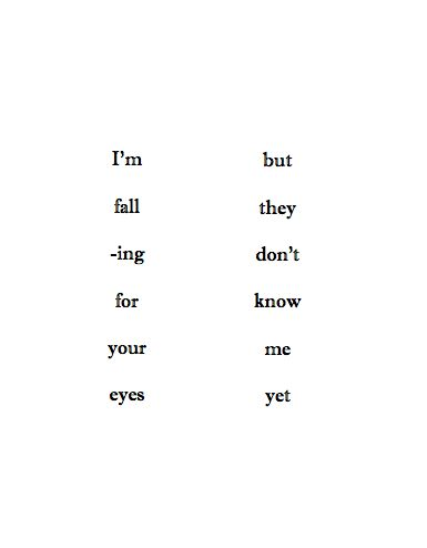 Deep Falling In Love Quotes Tumblr