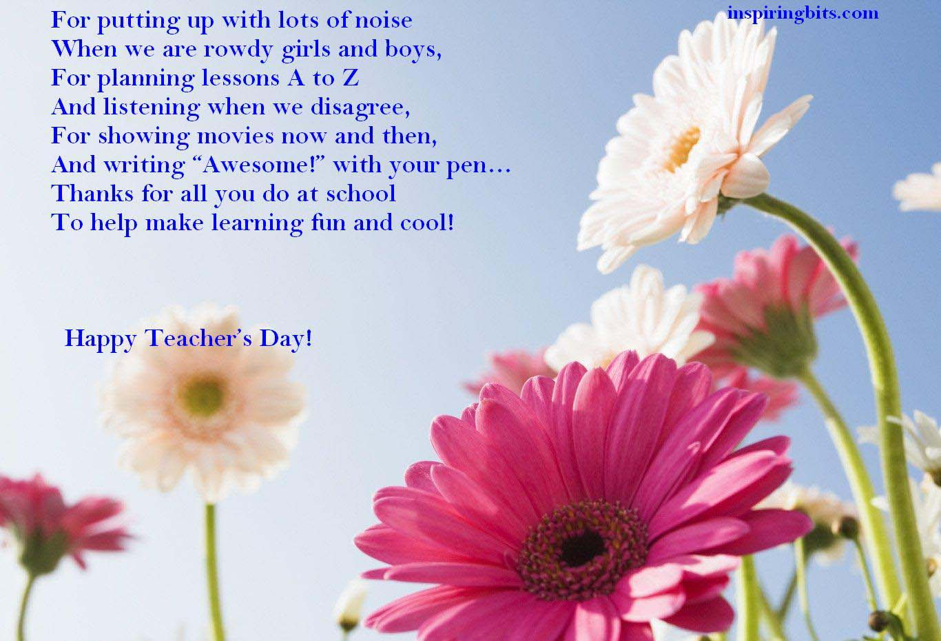 Teachers Day Wishes Quotes. QuotesGram