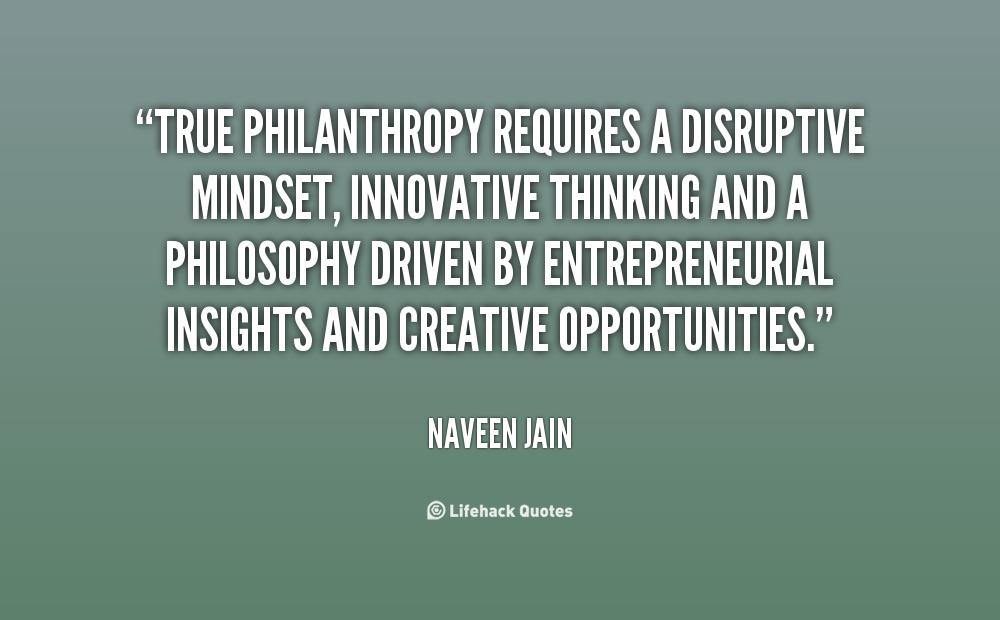 Inspiring Philanthropy Quotes Quotesgram