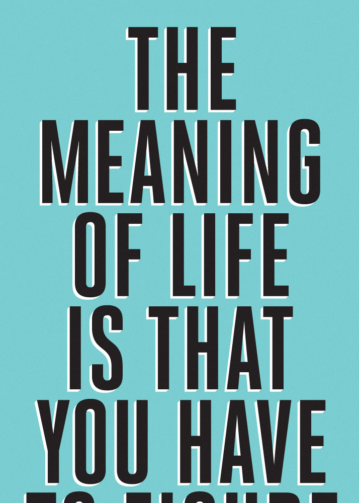 Meaning Of Life Funny Quotes. QuotesGram