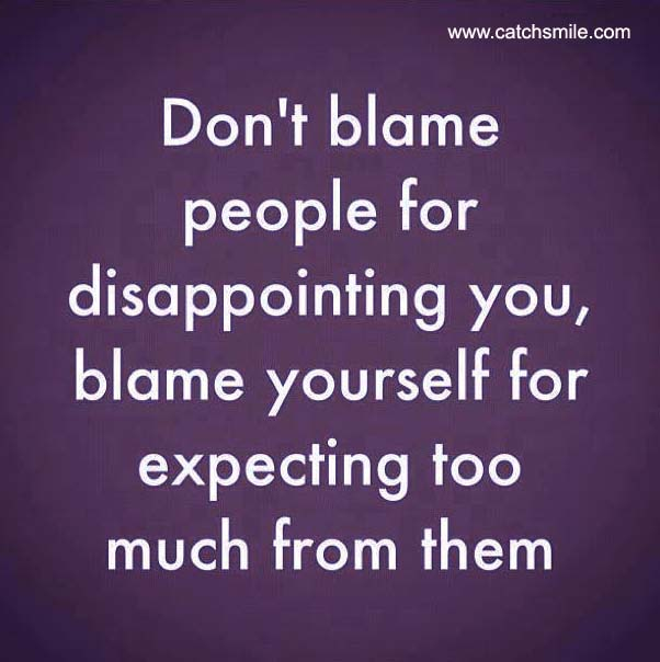 Blaming People Quotes....