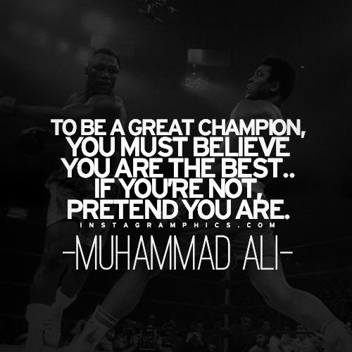 Muhammad Ali Top 10 Quotes: Muhammad Ali Quotes Champions. QuotesGram