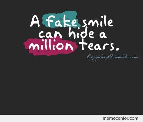 Hidden Suicidal Quotes: A Smile Hides Everything Quotes. QuotesGram