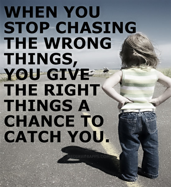 Chasing Love Quotes: Stop Chasing People Quotes. QuotesGram