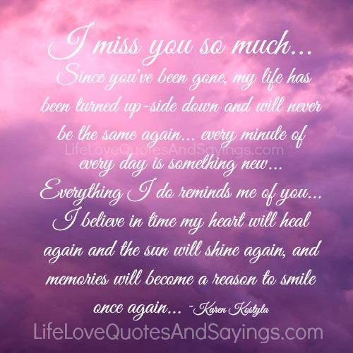 Miss You So Much Quotes. QuotesGram