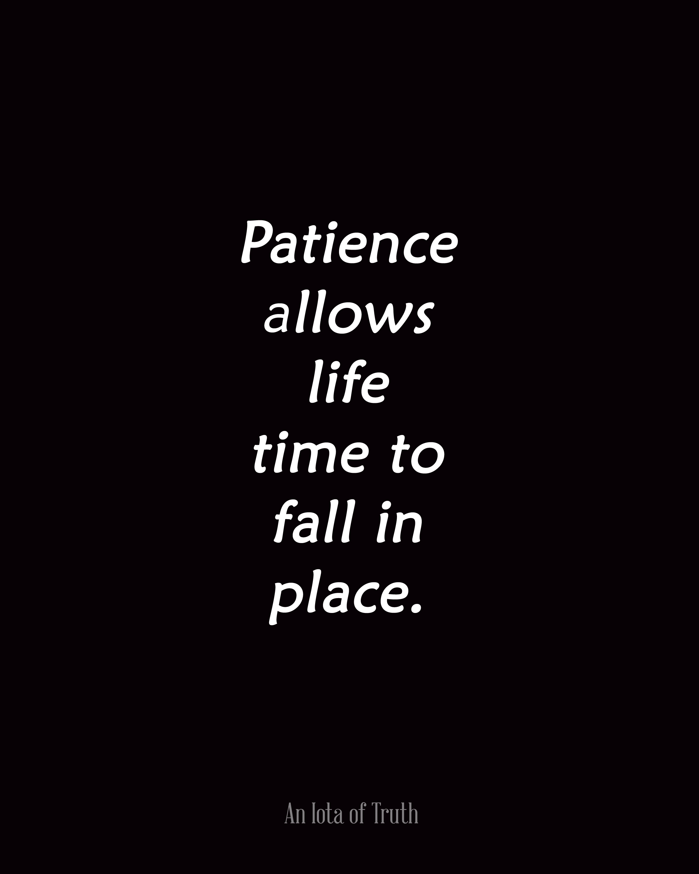 Quotes About Patience And Time. QuotesGram