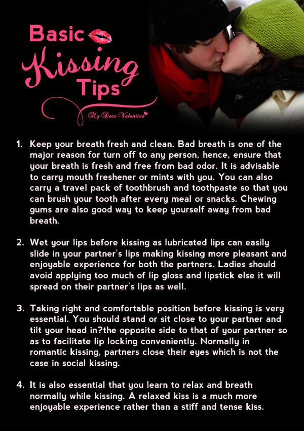 Kissing lips boyfriend girlfriend How to