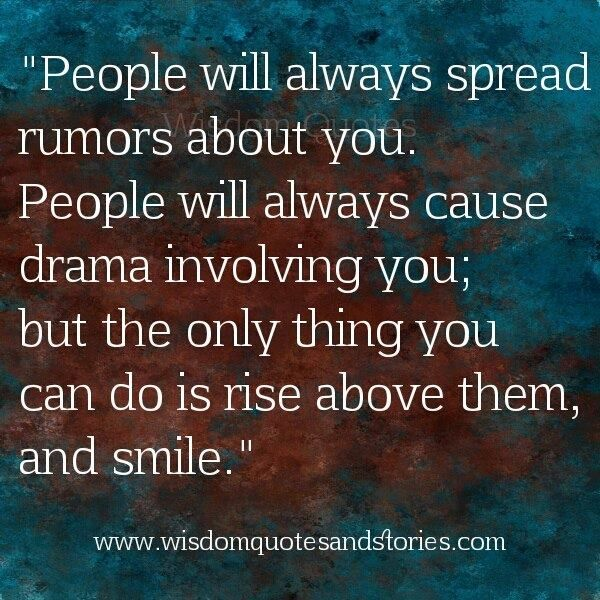 Quotes About Rumors Quotes About Sp...