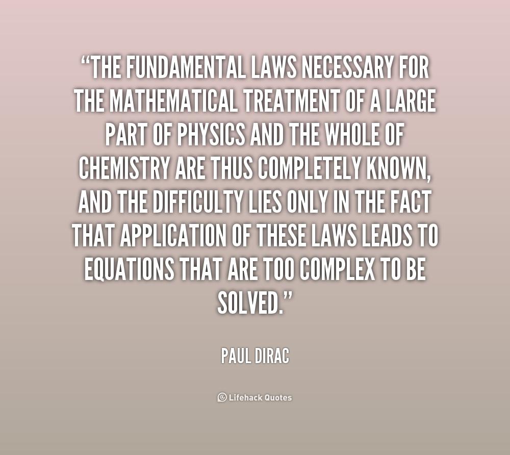 Fundamental Quotes Images: Paul Dirac Quotes. QuotesGram