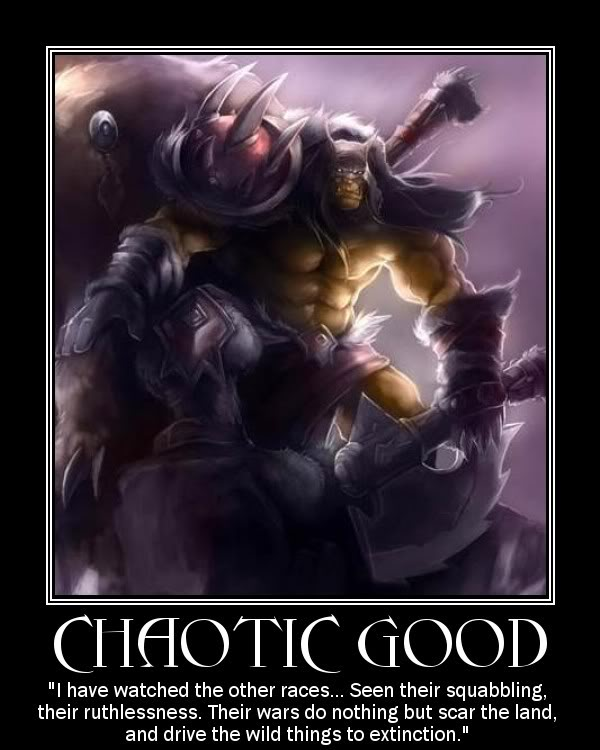 Neutral Does Not Mean Boring: Chaotic Good Quotes. QuotesGram