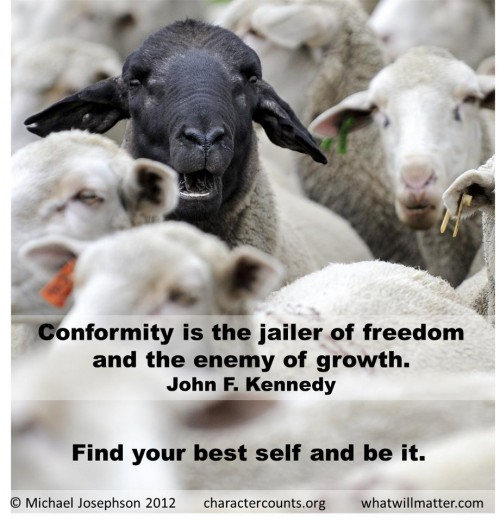 The Danger of Conformity