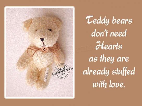 Teddy Bear Quotes. QuotesGram