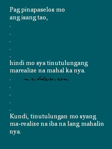 Bitter Quotes About Love Tagalog: Tagalog Quotes Para Sa Mga Bitter. QuotesGram