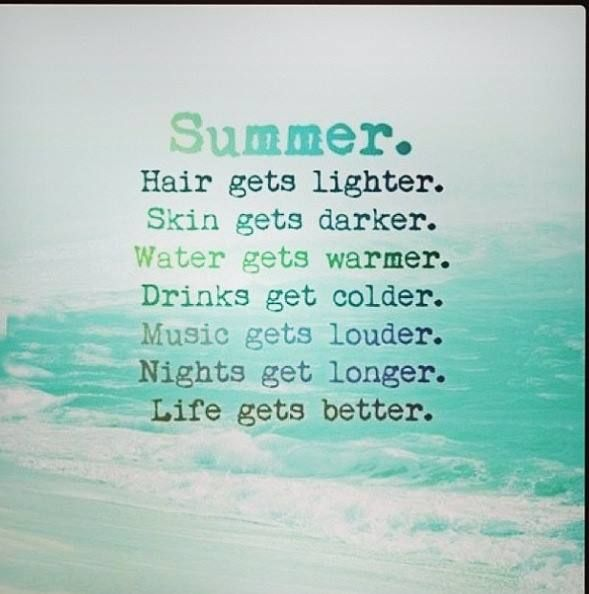 Summer Best Quotes: Famous Quotes About Summer Vacation. QuotesGram