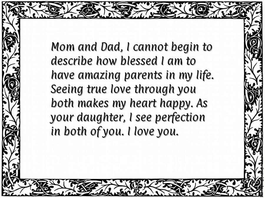 Marriage Anniversary Quotes For Parents Quotesgram