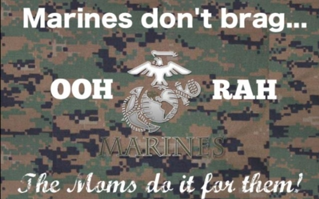 Proud Marine Mom Quotes. QuotesGram