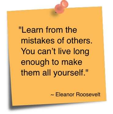 How The Most Effective People Learn From Their Mistakes. A ...