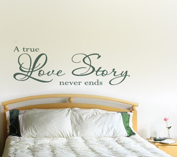 A True Love Story Never Ends Quote: Quotes True Love Never Ends. QuotesGram