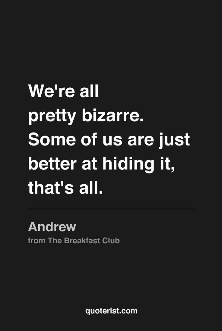 the breakfast club | Breakfast club movie, The breakfast ...  |Breakfast Club Quotes