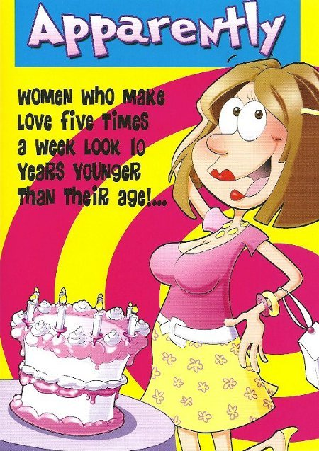 Happy Birthday Funny For Women Sexy Humorous Birthday Quot...
