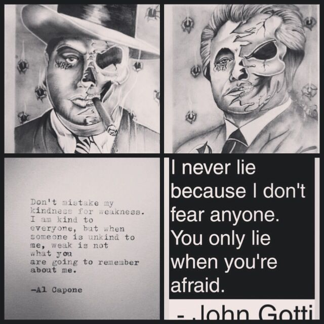 Mob Boss Quotes Drawings. QuotesGram