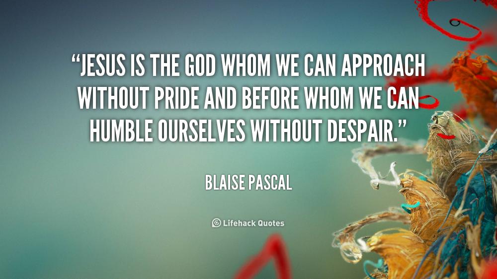 blaise pascal quotes god - photo #19