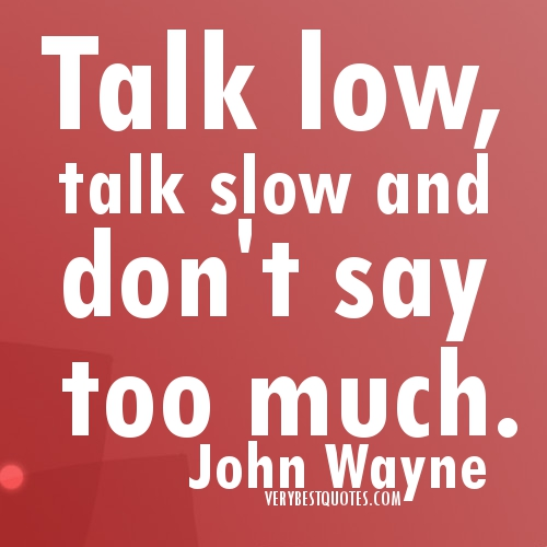 Quotes About Talking Too Much. QuotesGram
