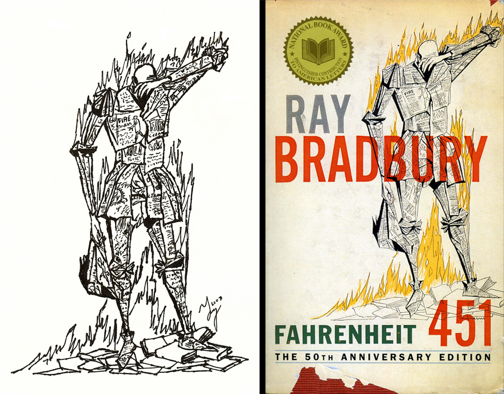 an analysis of the censorship in fahrenheit 451 a novel by ray bradbury Fahrenheit 451 by ray bradbury is a novel based on a dystopian society the way society copes with the government is through conformity conformity is an act of matching attitudes and beliefs.