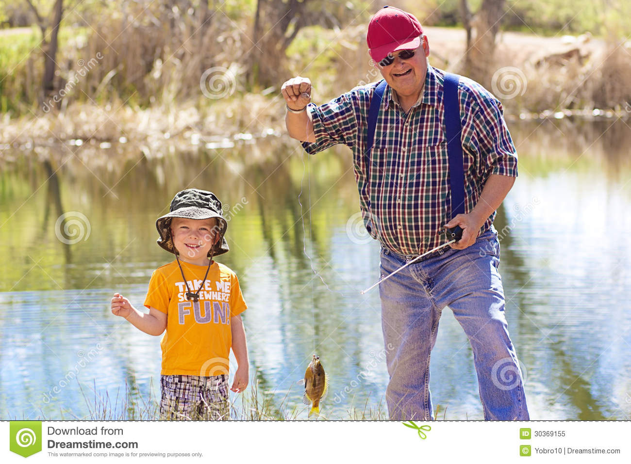 Quotes about fishing with grandpa quotesgram for Little boy fishing