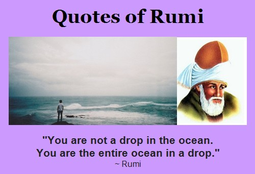 Translations Into Italian: Rumi Ocean Quotes. QuotesGram