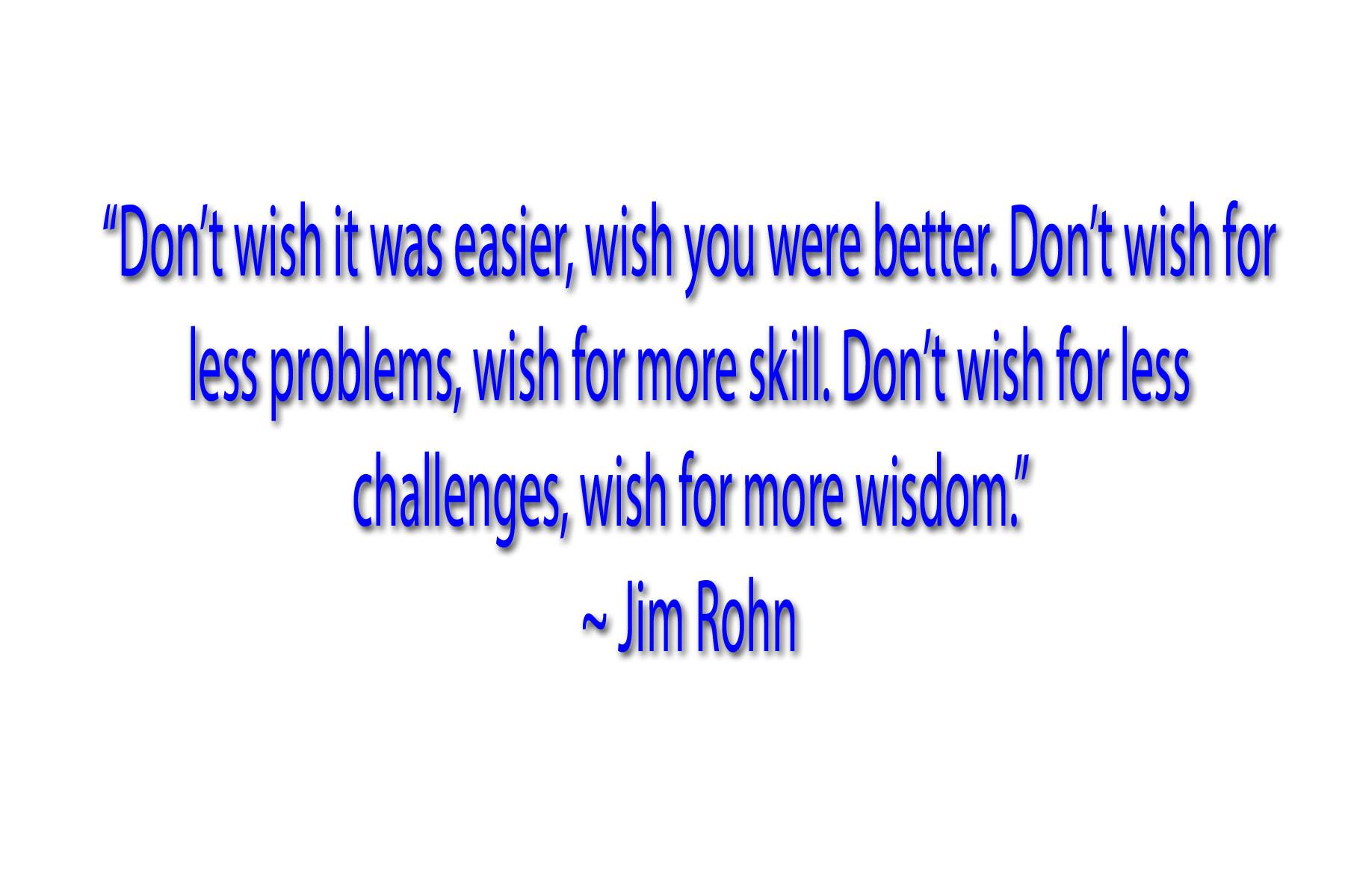 jim rohn Le message de jim rohn peut vous propulser vers le succès  la réussite est souvent le fruit d'élever son niveau de compétences les opportunités à saisir.