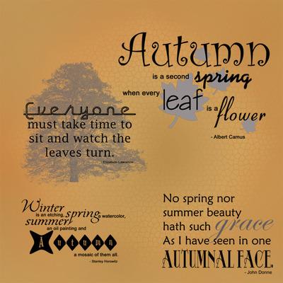 Autumn Quotations