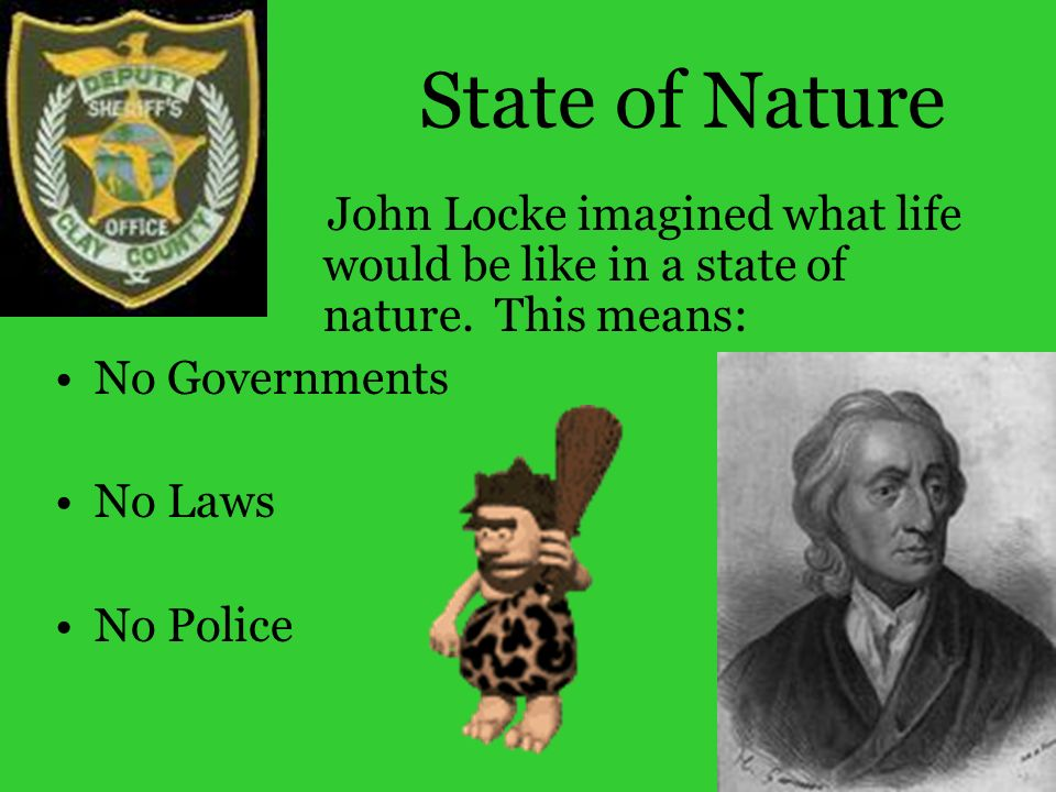 john lockes ideas on the law in the state of nature Essays related to john locke's state of nature 1 to law of nature which justifies view on human nature john lockes differing ideas were extremely.