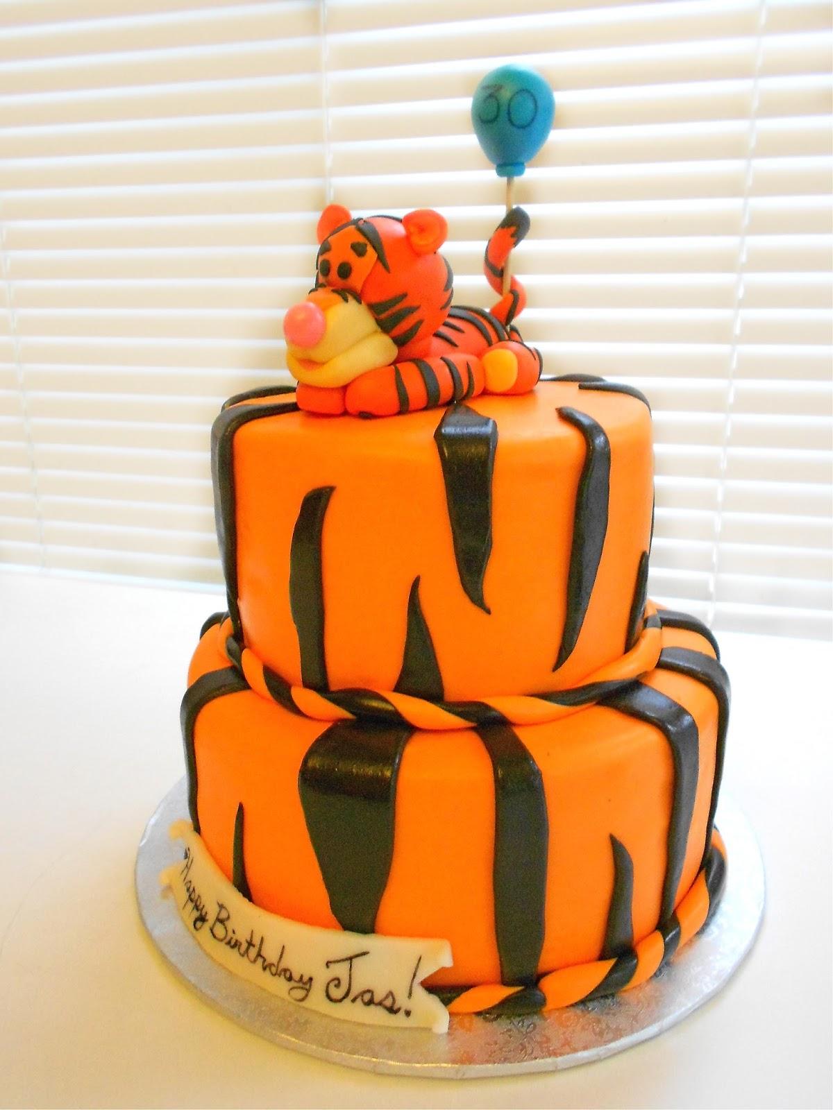Baby Tiger Cake