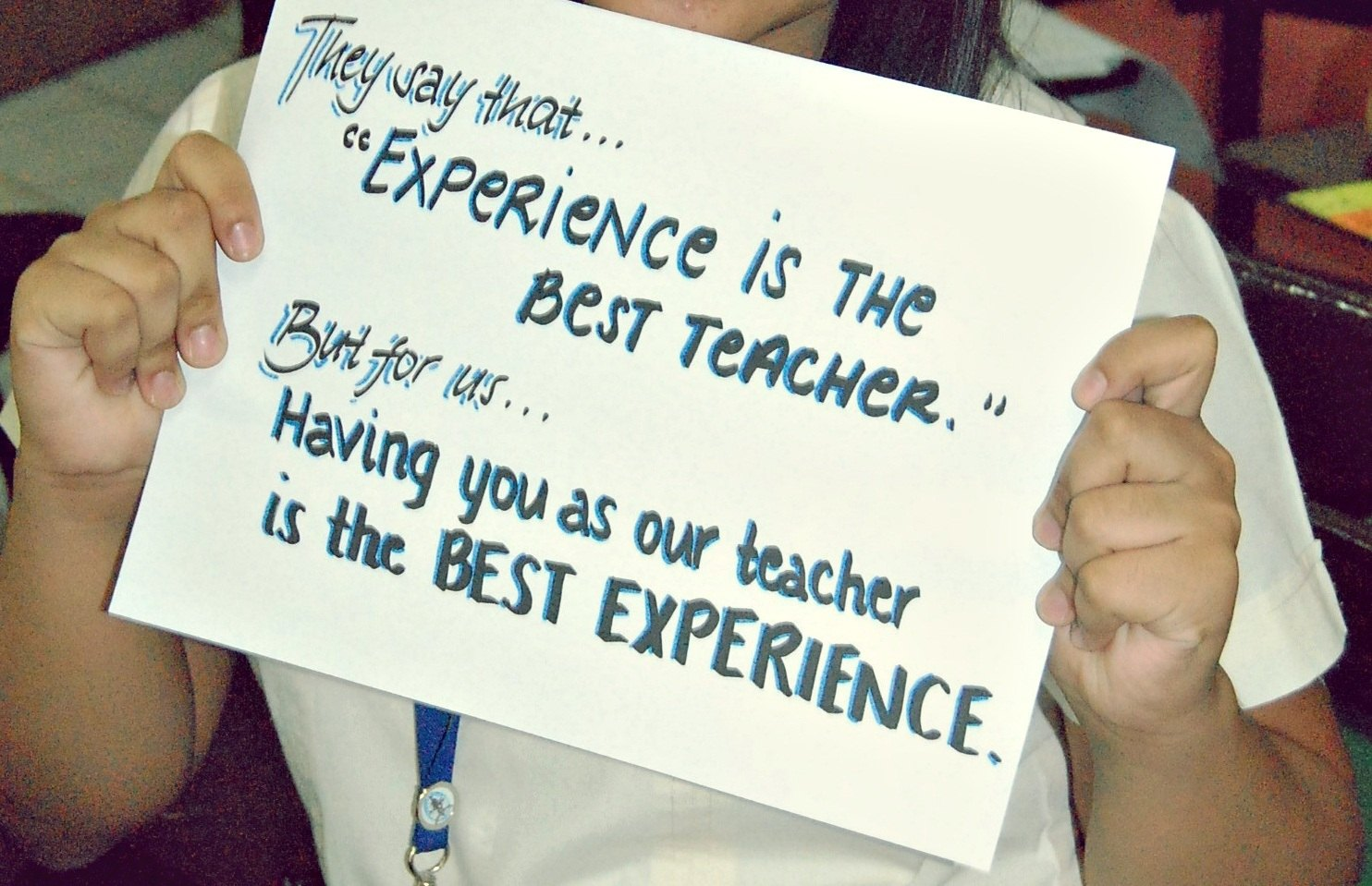 happy teachers day quotes experience quotesgram