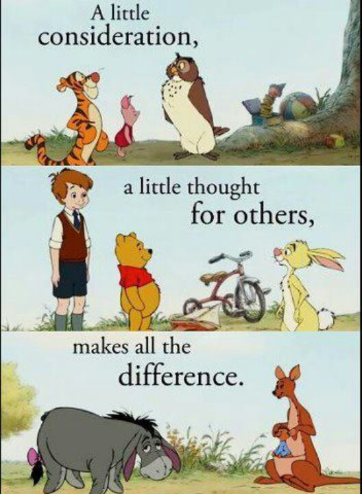 Winnie The Pooh Kindness Quotes Quotesgram