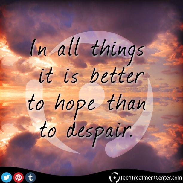 Despair Quotes: Hope Despair Quotes. QuotesGram