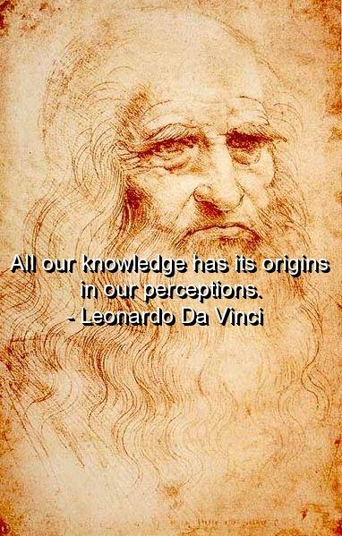 Quotes From Leonardo Da Vinci Art Quotesgram