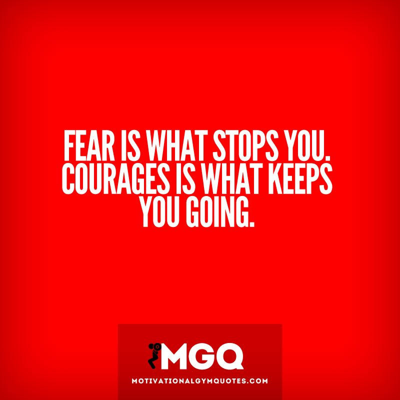 Inspirational Quotes About Fear: Fear Inspirational Quotes. QuotesGram