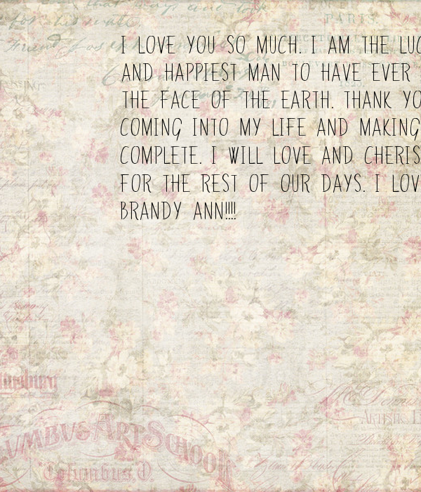 Quotes About Love: Thank You For Coming Into My Life Quotes. QuotesGram