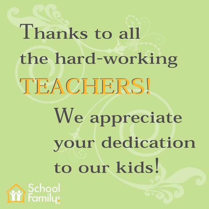 Teacher Appreciation Quotes Quotesgram