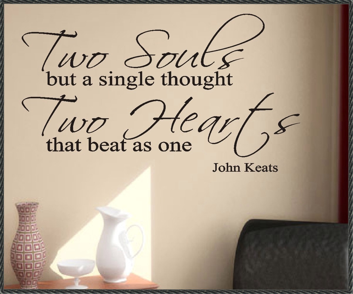 Love Each Other When Two Souls: John Keats Quotes Wallpaper. QuotesGram